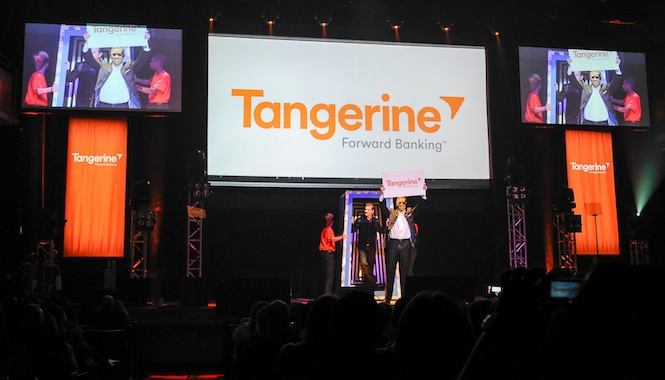 Tangerine Rebrand Event Launch